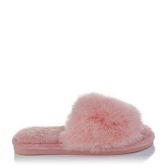 Fur Παντόφλα Ροζ