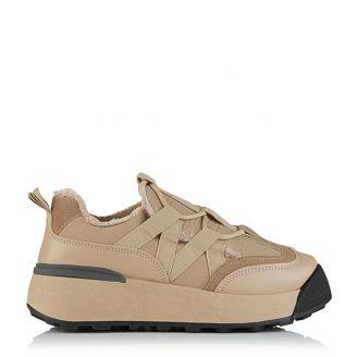 Winter Sneaker Μπεζ