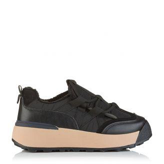 Winter Sneaker Μαύρο