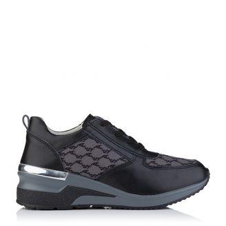 Aerostep Platform Sneaker Μαύρο